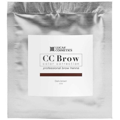 Фото - CC Brow Хна для бровей в саше 5 г dark brown cc brow хна для бровей в саше 10 г blonde