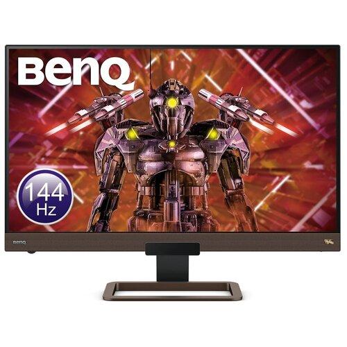 Монитор BenQ EX2780Q 27, metallic grey монитор benq 23 8 ew2480 black metallic grey 9h lj3la tse