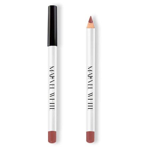 Marvel Cosmetics White Карандаш для губ 426 AMSTERDAM (Пудровый Тюльпан) marvel cosmetics карандаш для губ 337 rose quartz