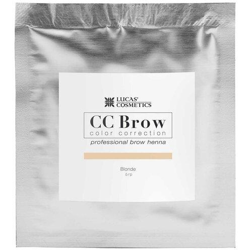 Фото - CC Brow Хна для бровей в саше 5 г blonde cc brow хна для бровей в саше 10 г blonde