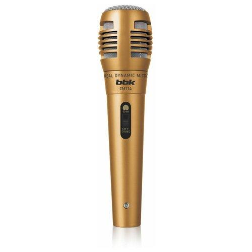 Микрофон BBK CM114, бронза