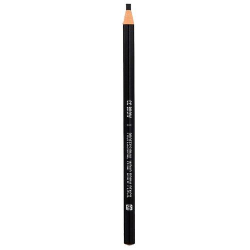 CC Brow карандаш для бровей Wrap Brow Pencil, оттенок 01 черный