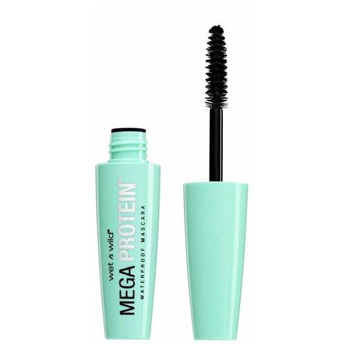 Wet n Wild Тушь для ресниц Mega Protein Waterproof Mascara, Very Black