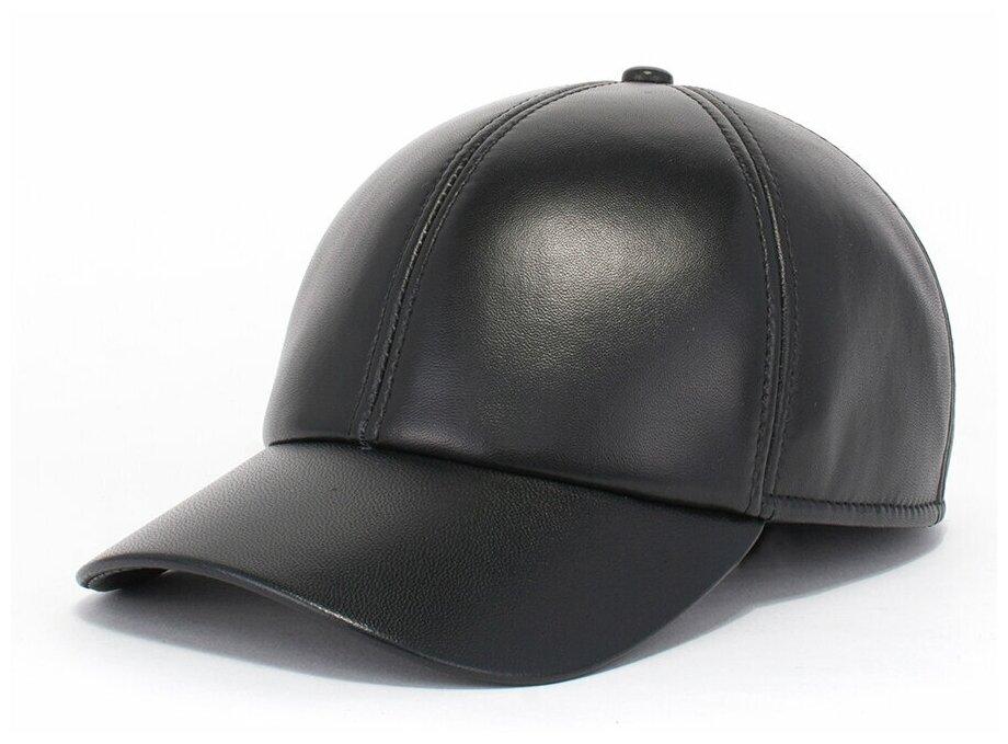Бейсболка Antar 200101 из натуральной кожи, размер 62-63, черный — купить по выгодной цене на Яндекс.Маркете