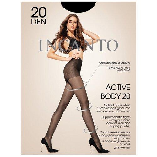 Колготки Incanto Active Body, 20 den, размер 4-L, nero (черный)