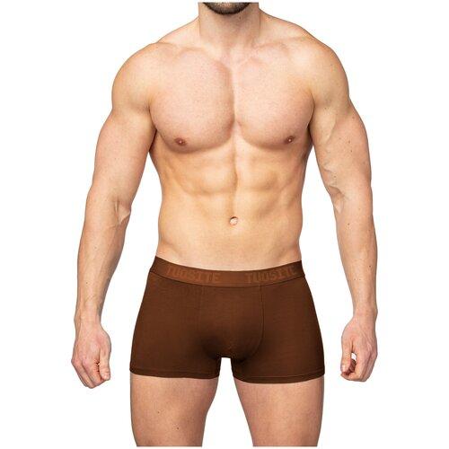 Tuosite Трусы боксеры с классической посадкой, размер XL, коричневый