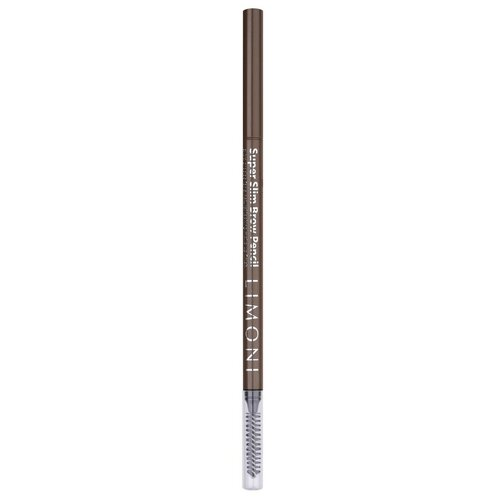 Купить Limoni карандаш для бровей Super Slim Brow Pencil, оттенок 02