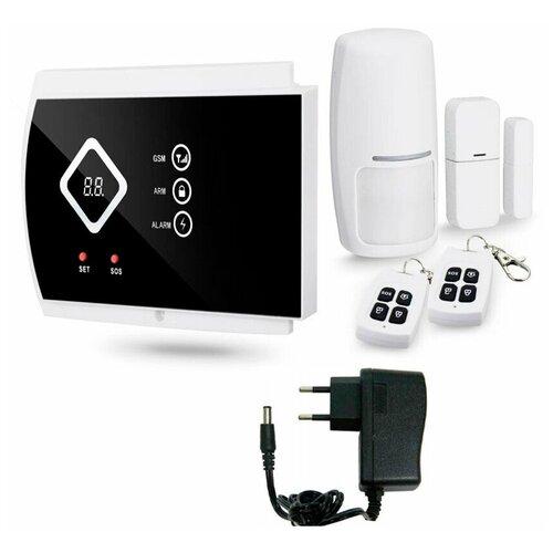 Беспроводная охранная GSM сигнализация Страж Стандарт для дома квартиры дачи коттеджа гаража