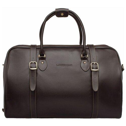 Фото - Дорожная сумка Sandford Brown мужская кожаная коричневая сумка milano brown 9282 коричневая