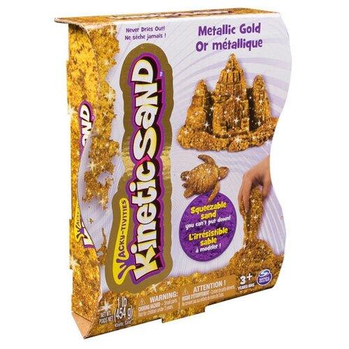Кинетический песок Kinetic Sand Металлик 455 гр (золотой) 71408-0023
