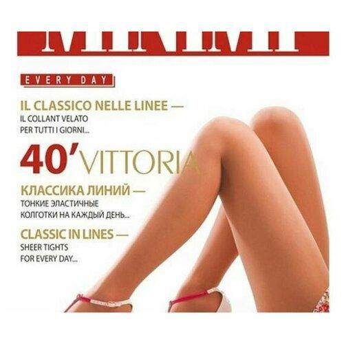Колготки MiNiMi Vittoria, 40 den, размер 2-S, nero (черный)