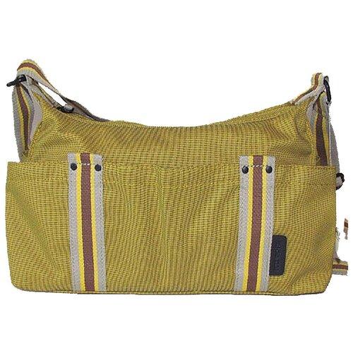 Сумка-бочонок BODENSCHATZ, текстиль, желтый