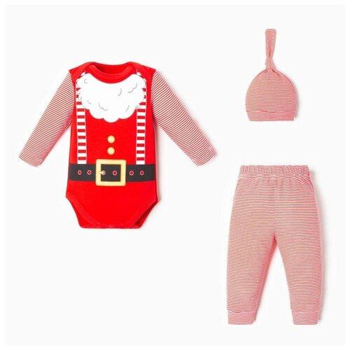 Купить Комплект одежды Крошка Я размер 62-68, красный, Комплекты
