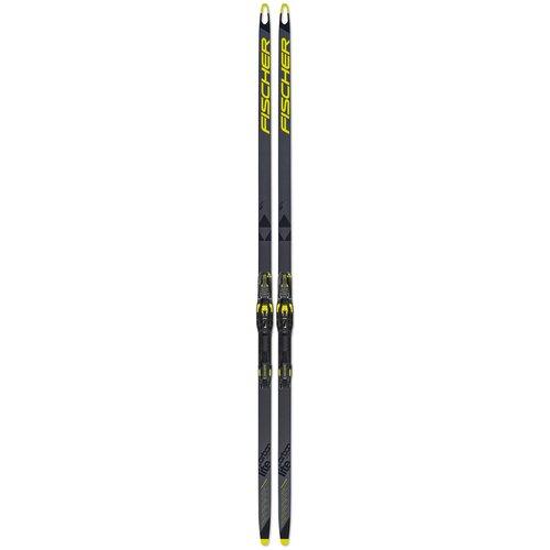 fischer carbonlite cl plus stiff ifp Беговые лыжи Fischer Carbonlite Skate Plus X-Stiff IFP серый/черный/желтый 2019-2020 186 см