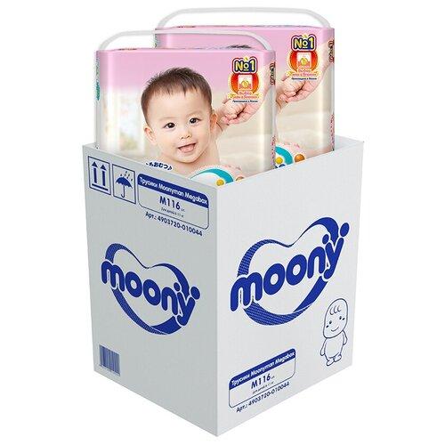 Купить Moony трусики Man M (6-11 кг), 116 шт., Подгузники