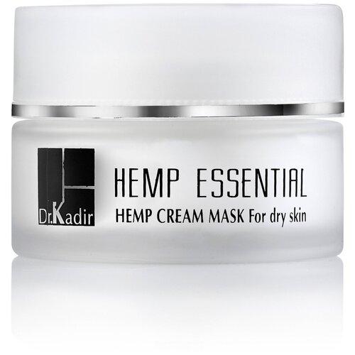 Купить Dr.Kadir Омолаживающая крем-маска для сухой кожи - Hemp Essential cream-mask for dry skin, Dr. Kadir