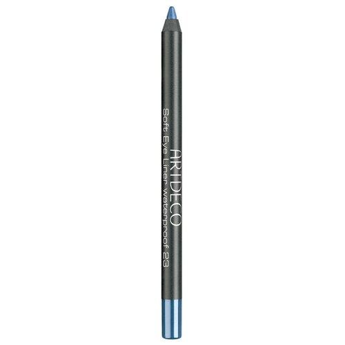 ARTDECO Водостойкий карандаш для век Soft Eye Liner Waterproof, оттенок 23 - cobalt blue