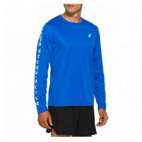 Лонгслив мужской ASICS 2011A818 401 KATAKANA LS TOP 2011A818401-1 размер 48 цвет синий
