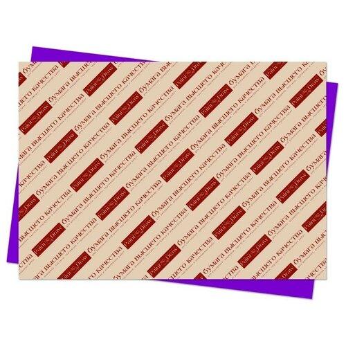 Цветной картон А3 в листах (фиолетовый)
