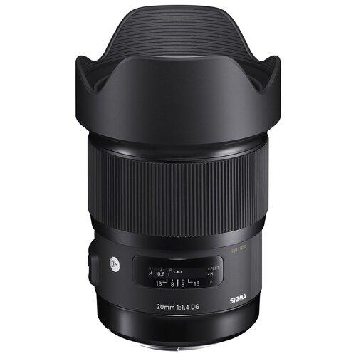 Фото - Объектив Sigma AF 20mm f/1.4 DG HSM A L-mount черный объектив sigma 20mm f 1 4 dg hsm art sony e