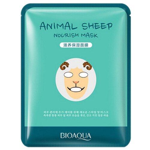 BioAqua Тканевая маска для лица Animal Face Sheep, 30 г недорого