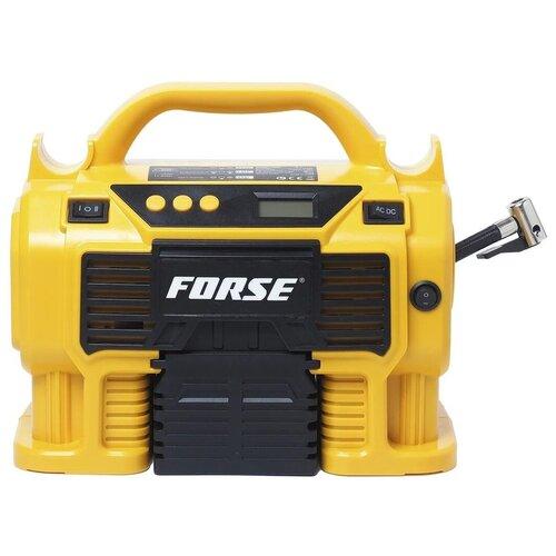 Многофункциональный воздушный автомобильный компрессор FORSE K1 с фонарем и манометром, беспроводной аккумуляторный, 50 л/мин, 20V