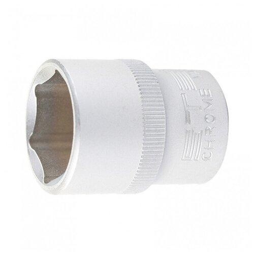 Головка торцевая, 20 мм, 6-гранная, CrV, под квадрат 1/2
