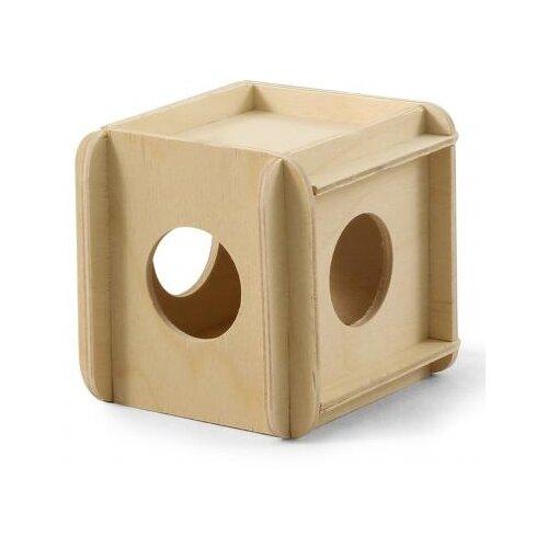 Дерево игрушка-кубик для грызунов гамма (10 шт) игрушка для грызунов дарэлл кубик малый деревянный 10 х 10 х 11 5 см 1 шт