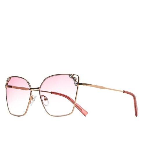 FURLUX / Солнцезащитные очки женские кошачий глаз/Модные очки купить 2021/Хорошие солнцезащитные очки/Подарок/FUS386/C1-916