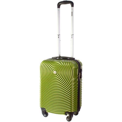 Фото - Чемодан PROFFI Tour Space S 36 л, оливковый чемодан proffi travel tour fashion 24 pp пластиковый средний 64 5х47х27 желтый