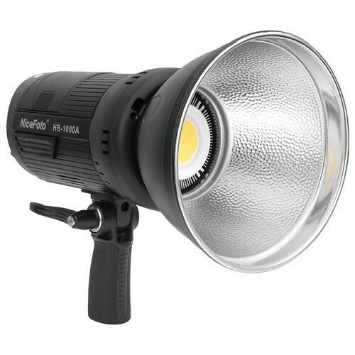 Фото - Осветитель NiceFoto HB-1000A 100W 3200-5500K (Bluetooth+2.4G receiver) осветитель nicefoto tc 168 rgb