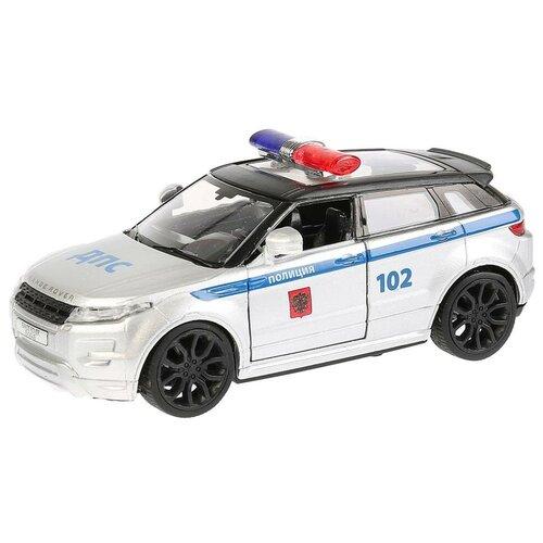 Легковой автомобиль ТЕХНОПАРК Range Rover Evoque (EVOQUE-P), 12.5 см, серебристый