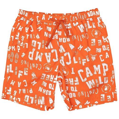 Фото - Шорты для плавания Button Blue размер 98-104, оранжевый шорты для плавания oldos размер 98 желтый синий
