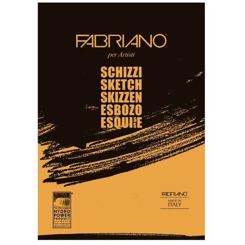 Фото - Скетчбук для зарисовок Fabriano Schizzi 29.7 х 21 см (A4), 90 г/м², 120 л. скетчбук блокнот для зарисовок полином на металлическом гребне artbook quadro big aquarelle 19 х 19 см 200 г м² 20 л