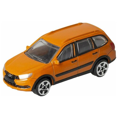 Купить Машинка Autogrand Lada Granta Cross Oранжевая 6 см, Машинки и техника