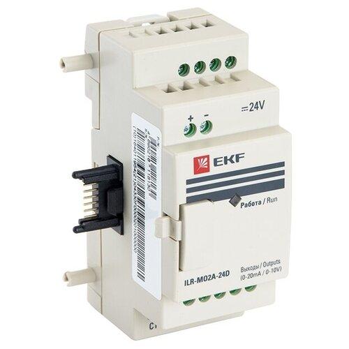 Аналог. модуль ввода/вывода (полевая шина) EKF ILR-MO2A-24D