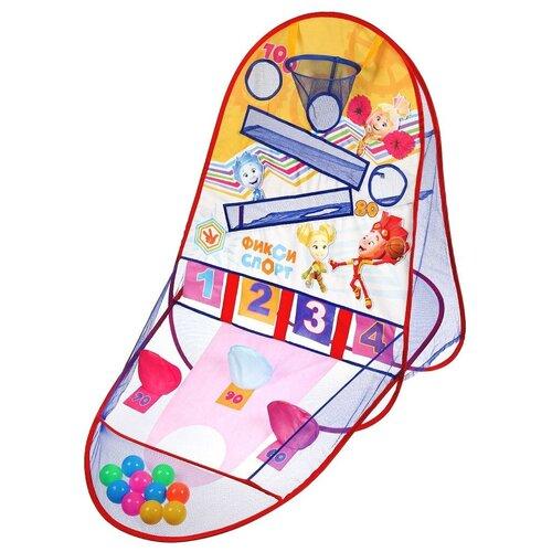 Комплекс спортивный игровой Играем вместе Фиксики 10 мячей в компл. в сумке головоломка играем вместе фиксики