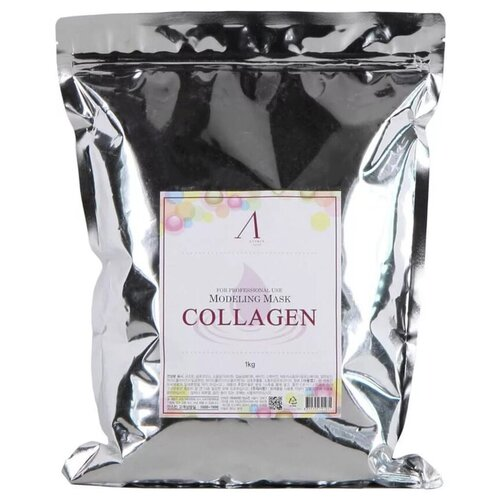 Купить Маска Anskin Collagen Modeling Mask альгинатная антивозрастная увлажняющая, 1000 г