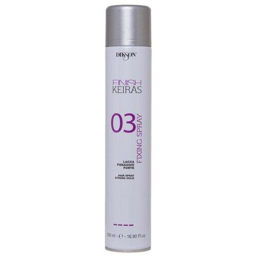 Купить Dikson Keiras Finish Лак для укладки волос Finish Fixing 03, сильная фиксация, 500 мл