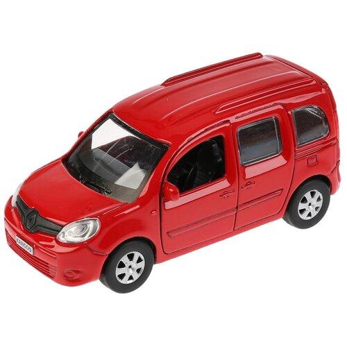 Легковой автомобиль ТЕХНОПАРК Renault Kangoo (KANGOO-SL/BK/RD), 12 см, красный легковой автомобиль технопарк renault kaptur 1 36 12 см оранжевый