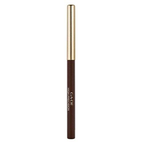 Фото - Ga-De Карандаш для глаз High precision eye liner, оттенок 02 Brown ga de карандаш для глаз high precision eye liner оттенок 02 brown