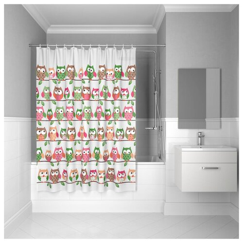 Штора для ванной комнаты, 180*180см, PEVA, P27PV11i11, IDDIS штора для ванной комнаты 180 180см peva p27pv11i11 iddis