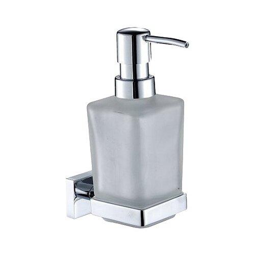 Дозатор для жидкого мыла Milardo Bering BE091MI, хром держатель milardo bering be021mi хром