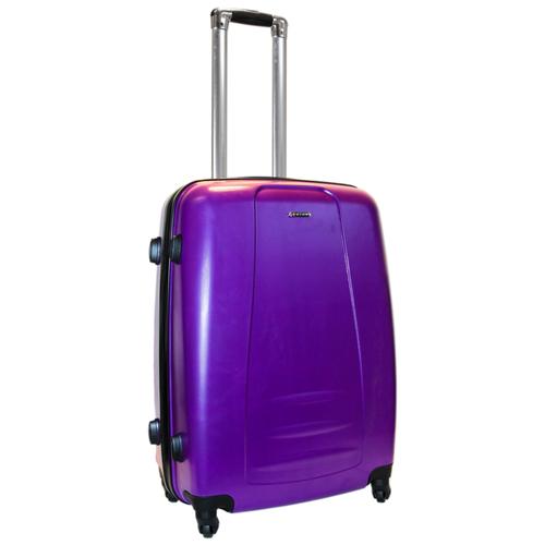 Чемодан Rion+ 418/3 62 л, фиолетовый чемодан rion 418 3 62 л голубой
