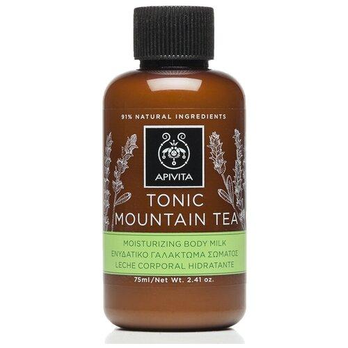 Молочко для тела Apivita Tonic Mountain Tea, 75 мл