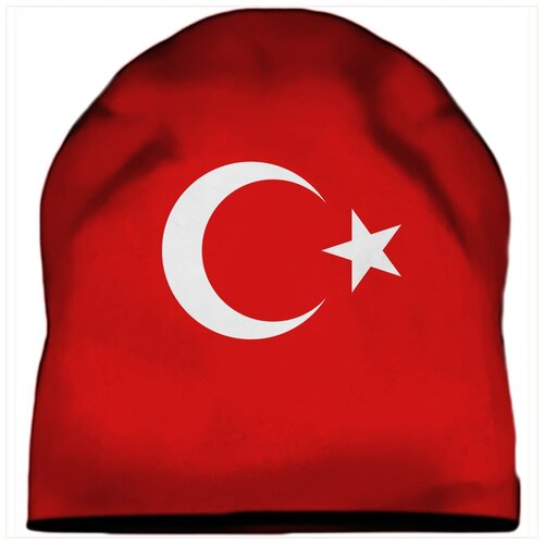 Шапка мужская Флаг Турции