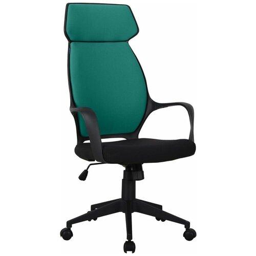 Кресло для руководителя Alsav кресла AL 767, обивка: текстиль, цвет: ткань черная/зеленая