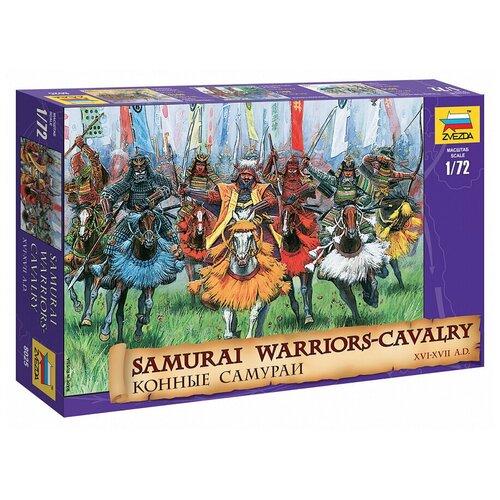 Сборные солдатики - Конные самураи XVI-XVII вв. 1:72 17 деталей