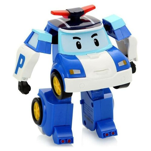 Купить Машинка Robocar Poli Silverlit Поли трансформер, полицейская машина, 10 см (83171), Машинки и техника