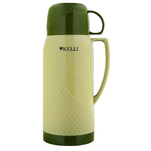 KL-0968 Термосы 1л. Kelli зеленый
